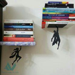 نگهدارنده کتاب دیواری نیتا متال طرح سوپرمن کد 101-2