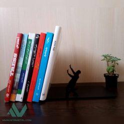 نگهدارنده کتاب نیتا متال طرح آدمک