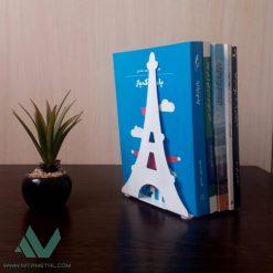 نگهدارنده کتاب نیتا متال طرح برج ایفل
