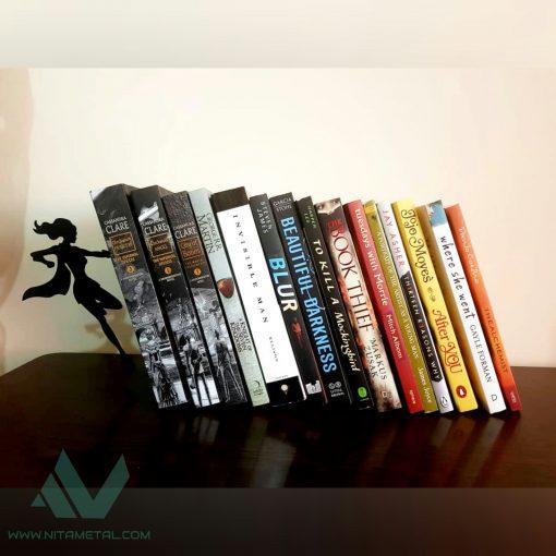 نگهدارنده کتاب نیتا متال طرح فرشته (سوپرگرل)