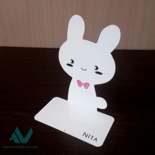 نگهدارنده و غشگیر کتاب نیتا متال طرح خرگوش