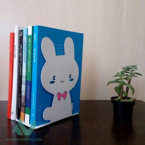نگهدارنده کتاب نیتا متال طرح خرگوش