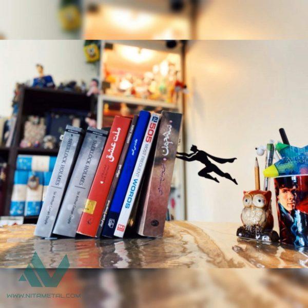 نگهدارنده کتاب نیتا متال طرح سوپرمن