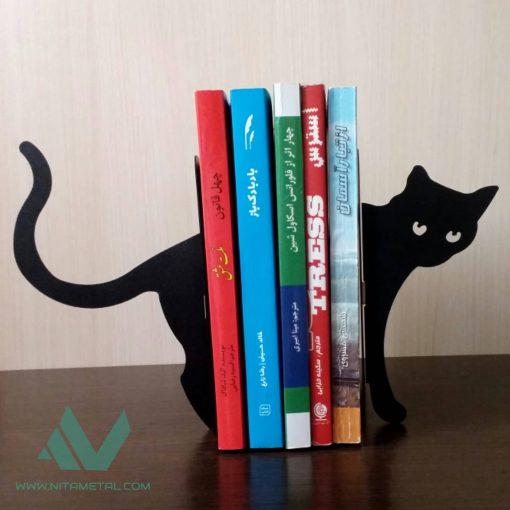 غشگیر و نگهدارنده کتاب نیتا متال طرح گربه