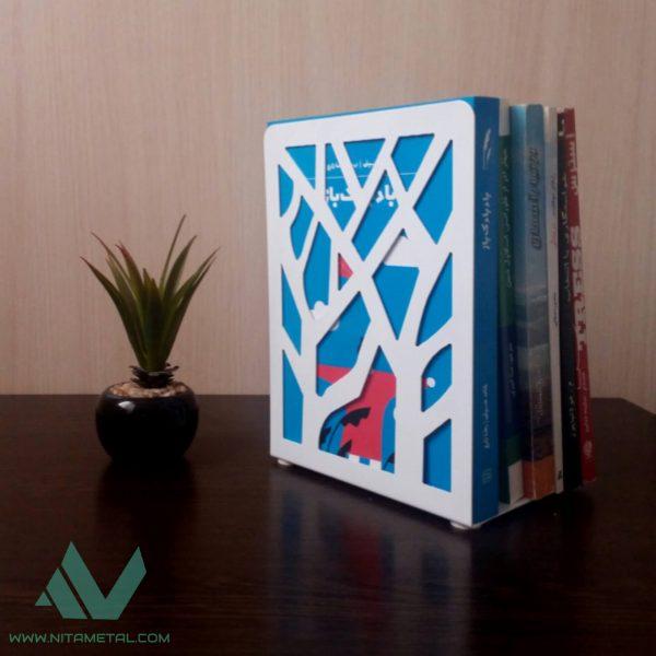 نگهدارنده کتاب طرح درختی نیتا متال